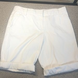 White Tommy Bahama Cuffed  Women's Shorts
